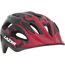 Lazer Nut'z Helmet big flames
